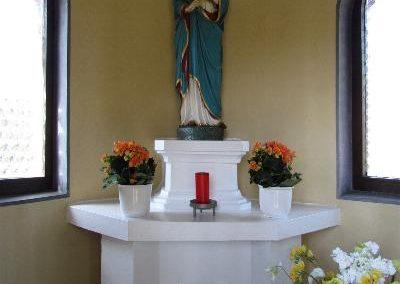 Wegekapelle Innen