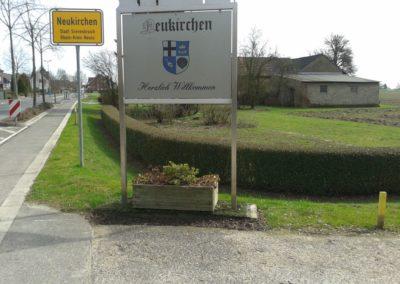 Ortseingang Hülchrather Straße