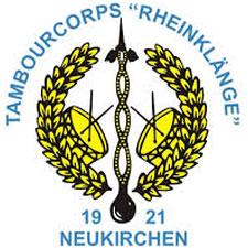 """Tambourcorps """"Rheinklänge"""" Neukirchen 1921"""